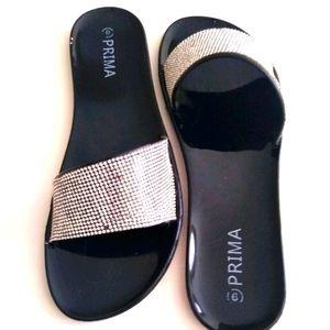 🏜️Prima sandals with Rhinestones size 9
